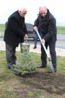 Bako Sahakyan partook in tree planting activities held in the vicinities of Stepanakert and the Shoshkavank monastery