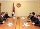 Meeting with president of the Armenian Union of Russia Ara Abrahamyan