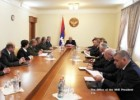 President Sahakyan convoked a meeting of the Security Council